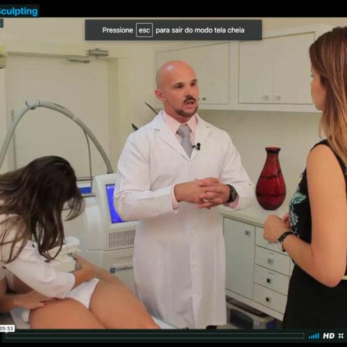 Dr. Casagrande fala sobre o Coolscupting na TV.COM