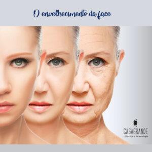 O envelhecimento da face
